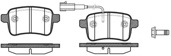Колодки тормозные дисковые, к-кт.  арт. 2145002