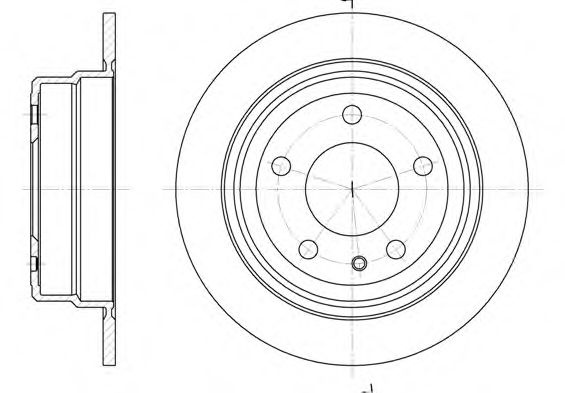 Тормозной диск  арт. 630800