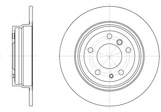 Тормозной диск  арт. 634200