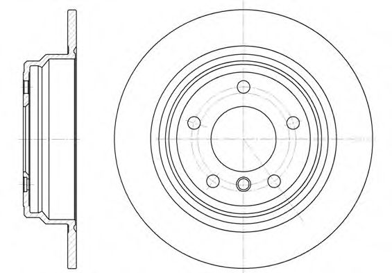 Тормозной диск  арт. 655400