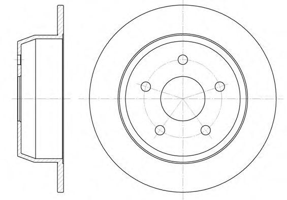 Тормозной диск  арт. 662800