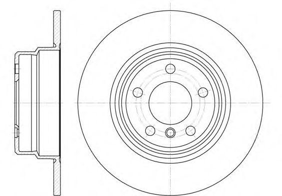 Тормозной диск ROADHOUSE 663200