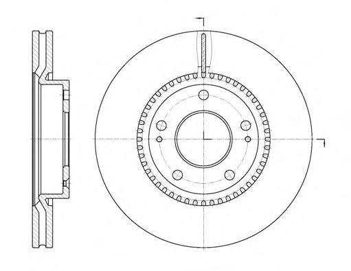 Тормозной диск  арт. 666310