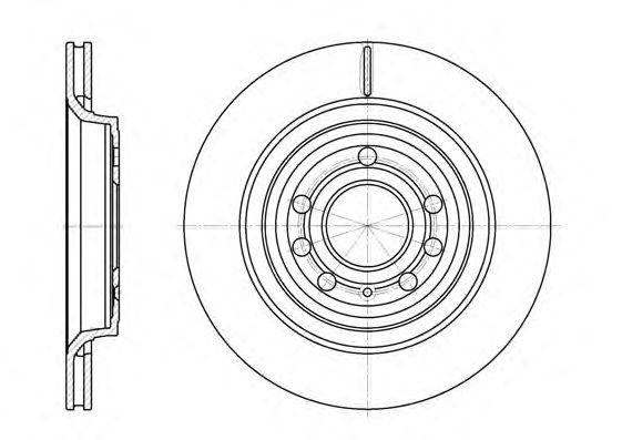 Тормозной диск  арт. 668610