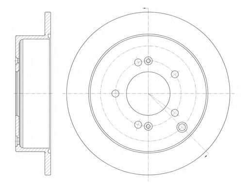 Тормозной диск  арт. 675600