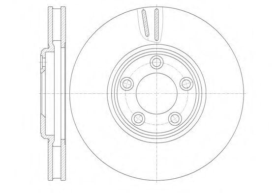 Тормозной диск  арт. 683610