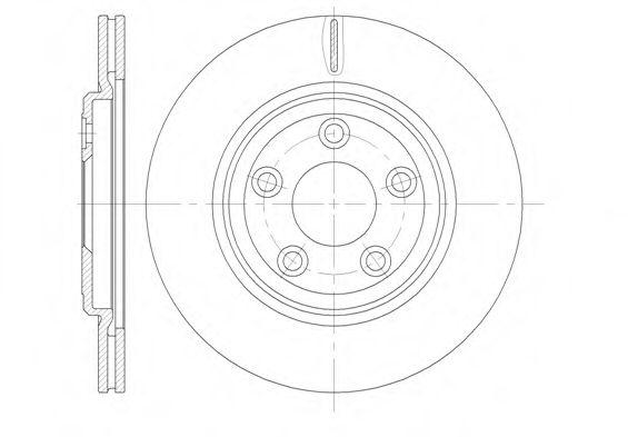 Тормозной диск  арт. 683710