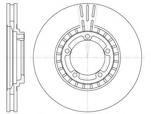 Тормозной диск  арт. 688410