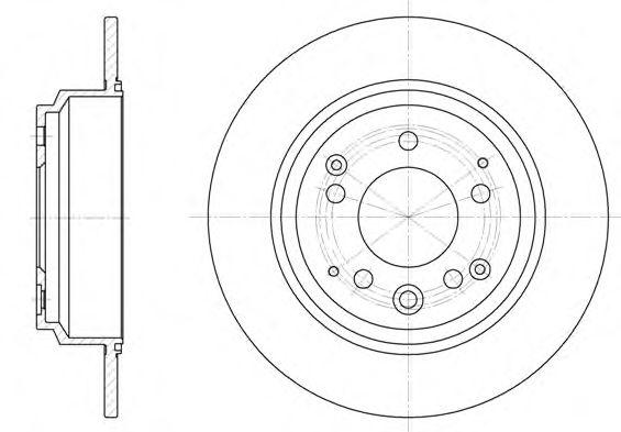 Тормозной диск  арт. 692200