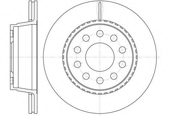 Тормозной диск ROADHOUSE 693010