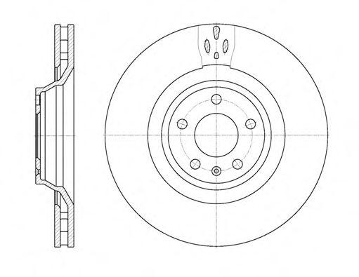 Тормозной диск ROADHOUSE 694210