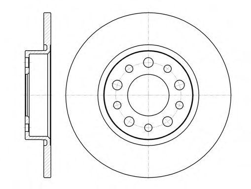Тормозной диск  арт. 696700