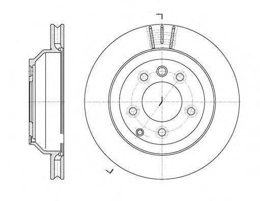 Тормозной диск ROADHOUSE 697110