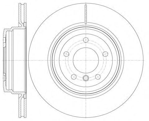 Тормозной диск  арт. 697610