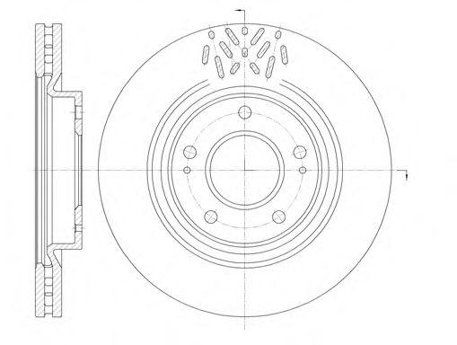 Тормозной диск ROADHOUSE 699610