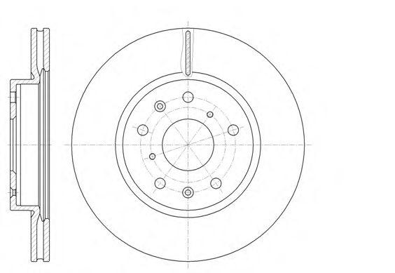 Тормозной диск  арт. 6101810