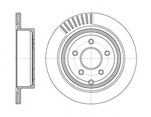 Тормозной диск  арт. 6109110