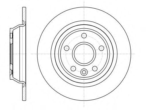 Тормозной диск  арт. 6116700