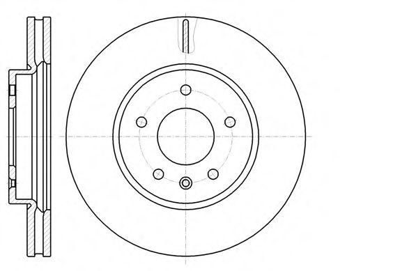 Тормозной диск  арт. 6118310