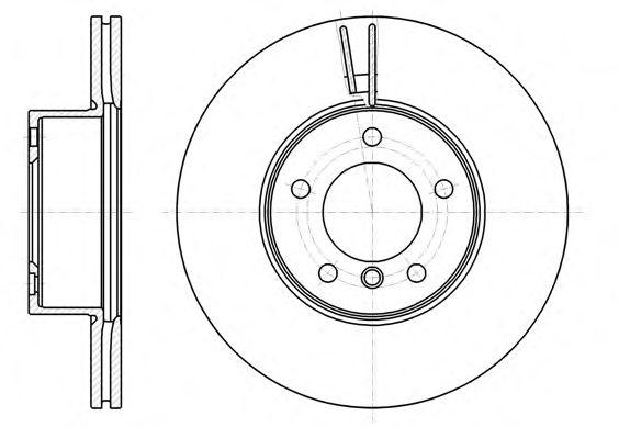Тормозной диск  арт. 6119410