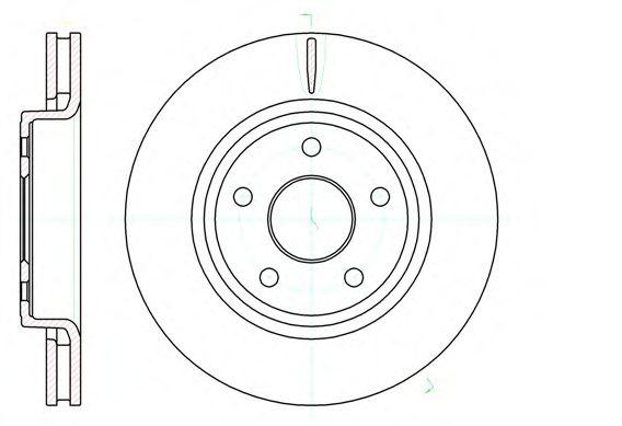 Тормозной диск  арт. 6121010