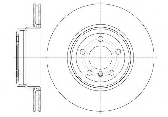 Тормозной диск  арт. 6133710
