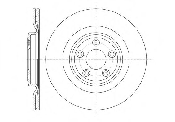 Тормозной диск  арт. 6137510