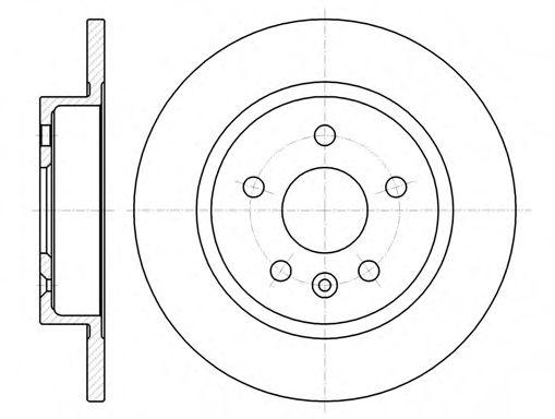 Тормозной диск  арт. 6131600