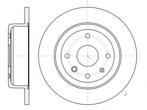 Тормозной диск  арт. 6132100