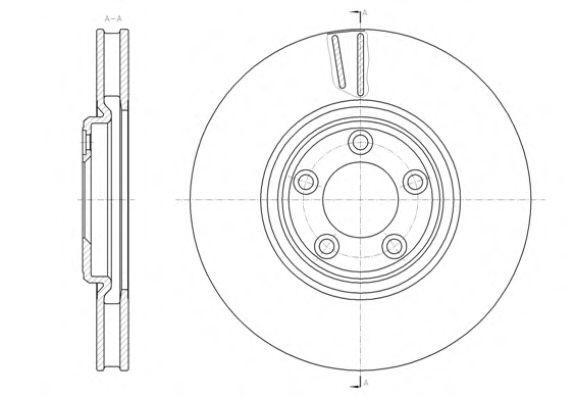 Тормозной диск  арт. 6143110