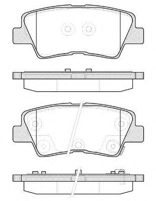 Колодки тормозные дисковые, к-кт.  арт. 2136252
