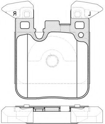 Колодки тормозные дисковые, к-кт.  арт. 2153900