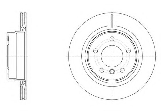 Тормозной диск  арт. 6149510