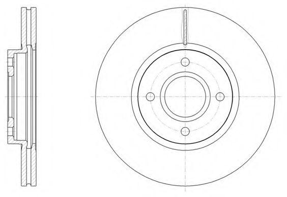 Тормозной диск  арт. 6150210