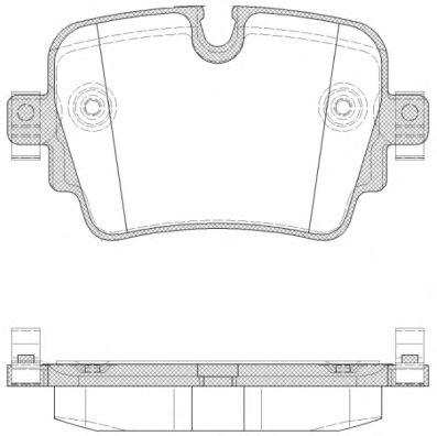 Колодки тормозные дисковые, к-кт.  арт. 2157200