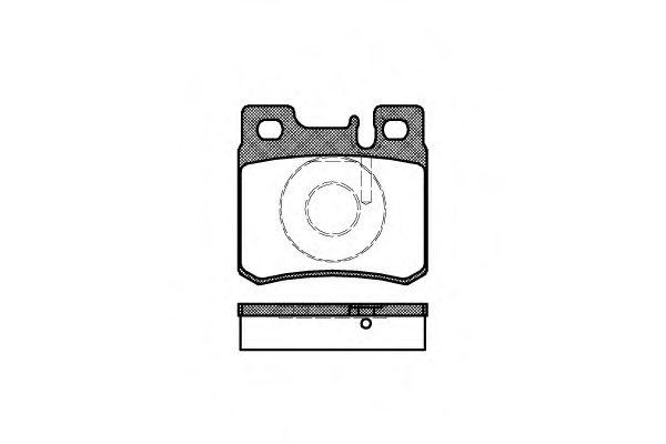 0282.20  REMSA - Гальмівні колодки до дисків REMSA 028220