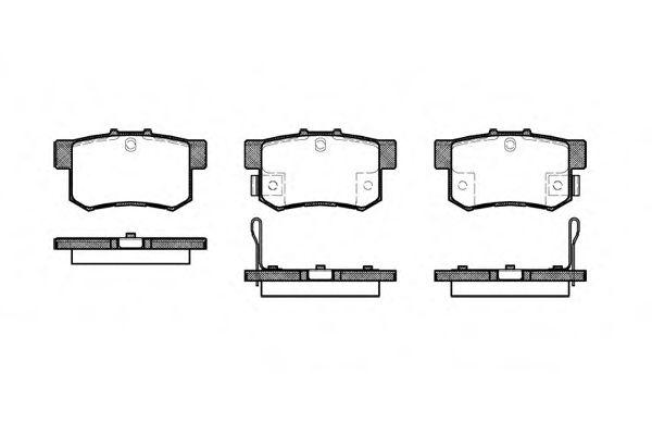 Тормозные колодки  арт. 032522
