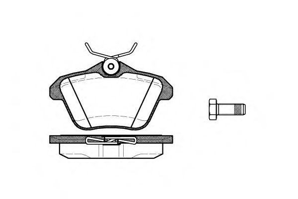 Колодки гальмівні дискові  арт. 058110