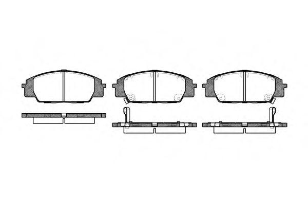 Колодки гальмівні дискові  арт. 073502