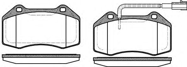 Колодки гальмівні дискові  арт. 111312