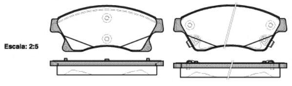 Колодки гальмівні дискові  арт. 143112