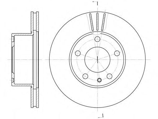 Тормозной диск  арт. 629810