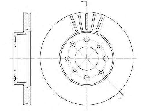 Тормозной диск  арт. 636910