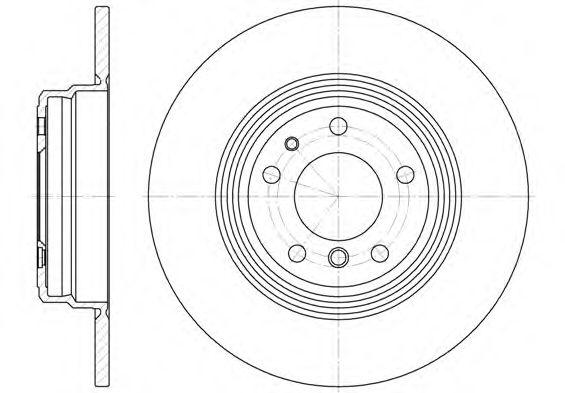 Диск тормозной (пр-во REMSA)                                                                          арт. 651000