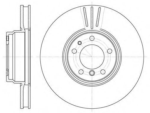 Тормозной диск  арт. 659410
