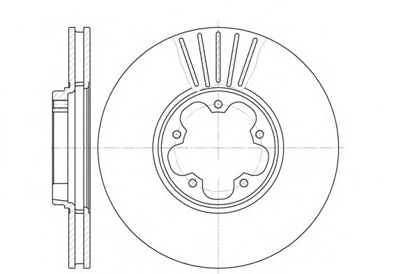Тормозной диск  арт. 660910