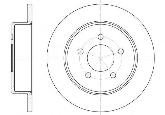 Тормозной диск  арт. 674600