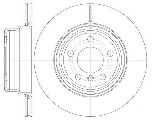 Тормозной диск  арт. 675510