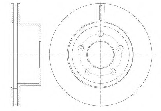 Тормозной диск  арт. 688610