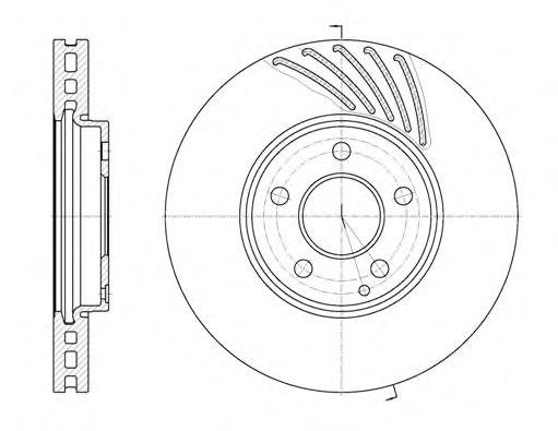 Тормозной диск REMSA 6114010